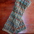 Stripes and Cables Scarf